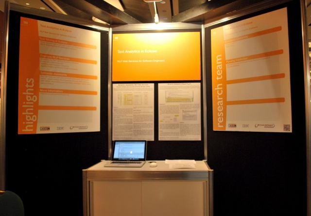 Semantic Assistants Showcase at IBM CASCON 2011