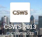 CSWS 2013 Logo