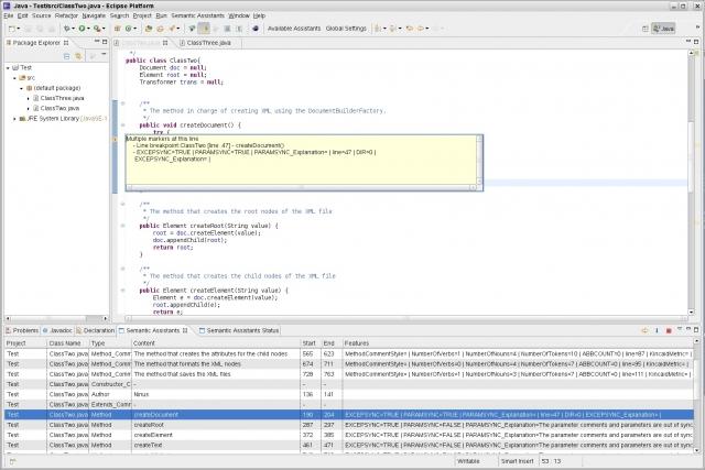 Semantic Assistants in Eclipse