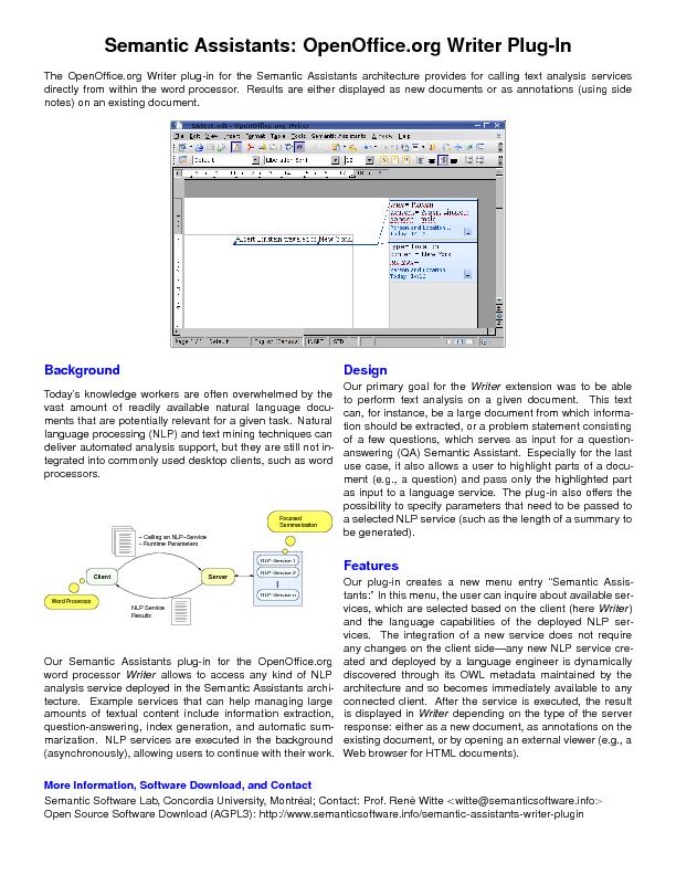 SA-Flyer: OpenOffice